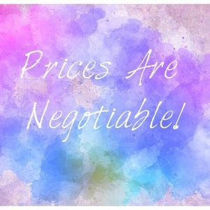 I Love Offers! Prices are Negotiable!